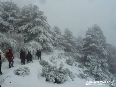 Valle de Iruelas - Pozo de nieve - Cerro de la Encinilla;senderistas murcia sendero mallorca